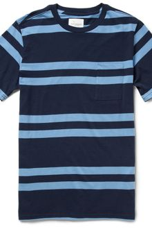 Saturdays Surf Nyc Randall Striped Cottonjersey T-shirt - Lyst