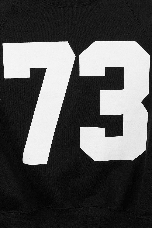 73 >> Lyst Topshop Number 73 Sweat In Black