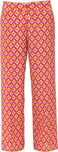 Aspesi  Silk Trousers - Lyst