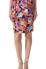 Catherine Malandrino Pencil Skirt - Lyst