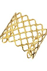 Devon Leigh Honeycomb Golf Cuff - Lyst