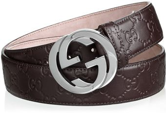 Gucci Belt Dark Brown - Lyst