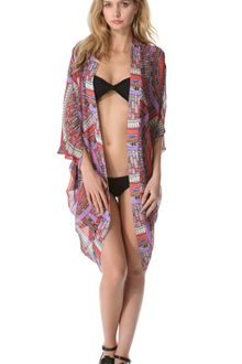 Mara Hoffman Rainbow Cocoon Cover Up - Lyst