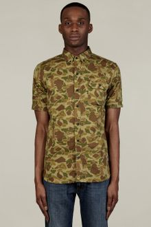 Penfield Mens Camo Print Harrisville Shirt - Lyst