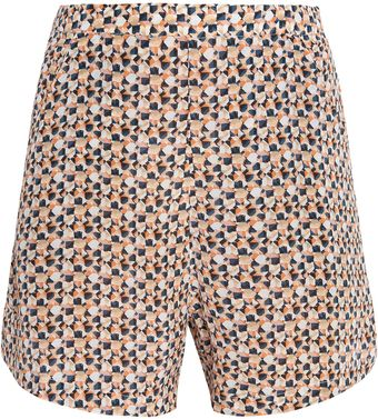 Saloni Printed Shorts - Lyst