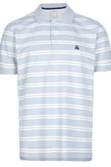 Brooks Brothers Striped Polo Shirt - Lyst
