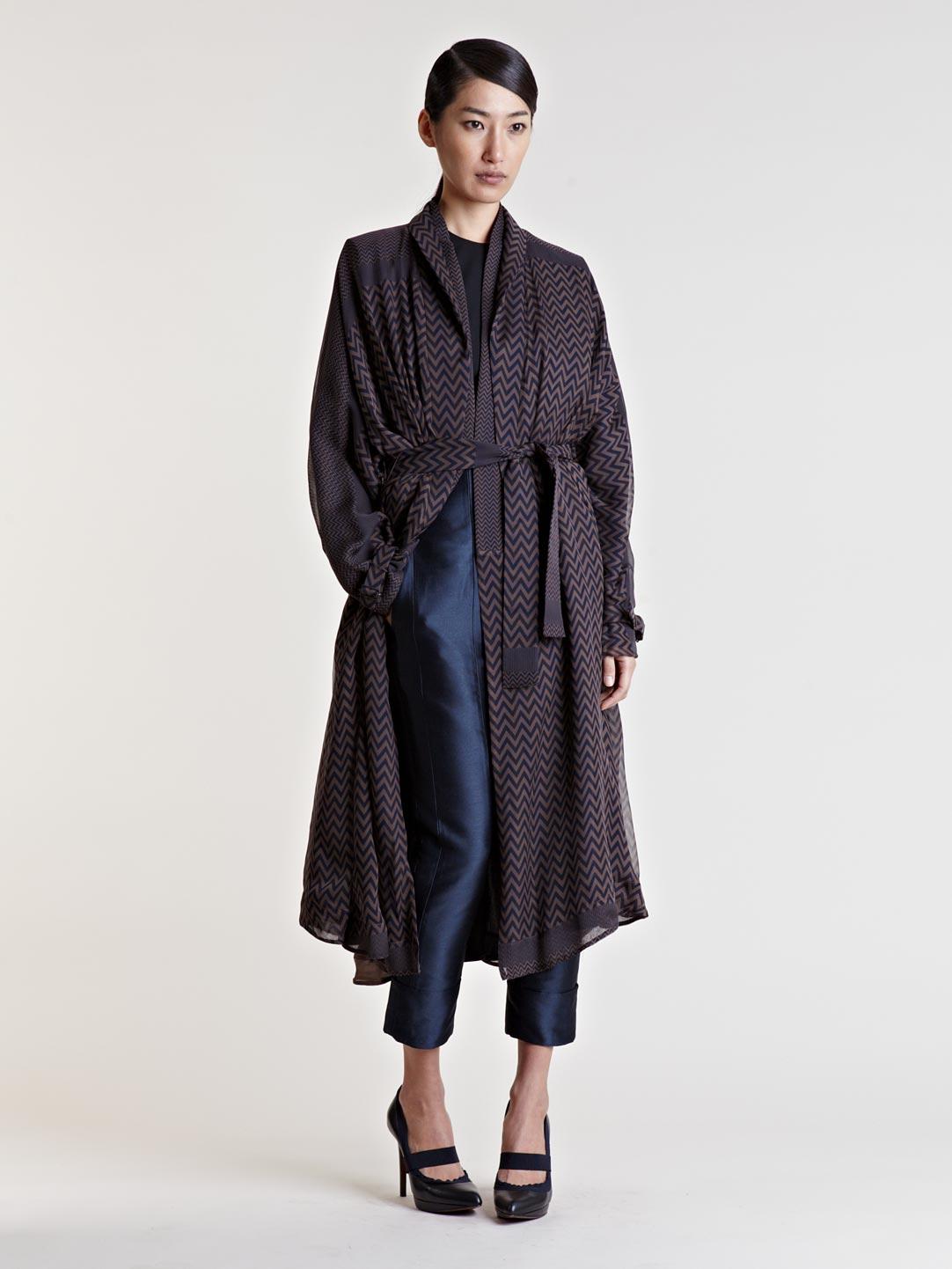 Lyst Haider Ackermann Womens Richepin Coat In Brown
