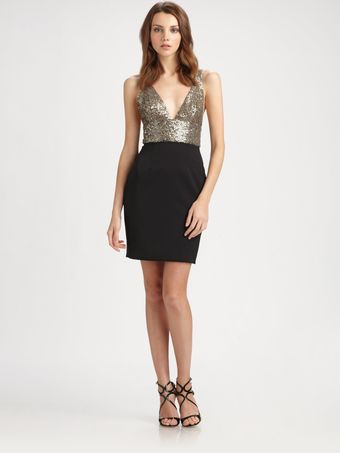 Jay Godfrey Chandon Triangle Cup Dress - Lyst