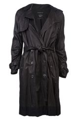 Lanvin Vault Double Breasted Trench Coat - Lyst