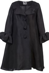 Lanvin Vault Flared Coat - Lyst