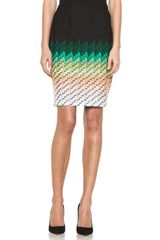 Missoni Knee Length Skirt in Multi - Lyst