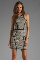 Parker Palms Dress in Blackwhite - Lyst