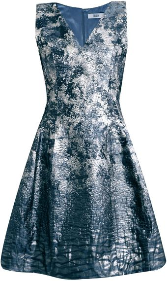 Prabal Gurung Degradé Jacquard Fitted Dress - Lyst