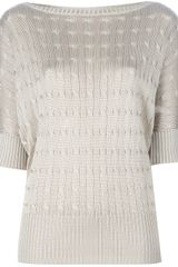 Ralph Lauren Cable Knit Sweater - Lyst