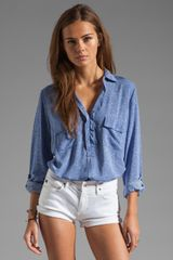 Splendid Heathered Shirting - Lyst