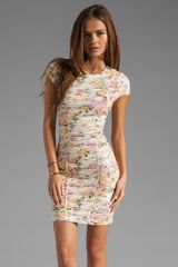 Torn By Ronny Kobo Tulip Dress - Lyst