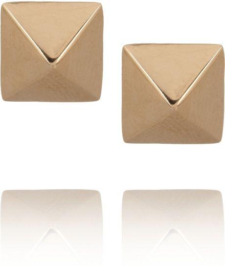 Anita Ko Spike 14-Karat Rose Gold Stud Earrings in Gold (rose)