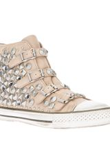 Ash Victim Studded Hitop Trainer - Lyst
