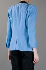 By Malene Birger Kines Blazer in Blue - Lyst