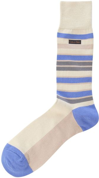 Calvin Klein New Stripe Sock - Lyst