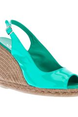 Castaner Sling Back Wedge - Lyst