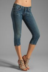 Citizens Of Humanity Racer Crop Jeans - Lyst