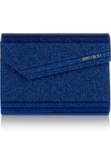 Jimmy Choo The Candy Glitterprint Acrylic Clutch - Lyst