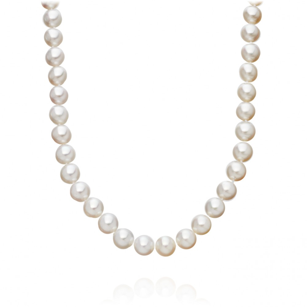 Astley clarke cultured freshwater pearl necklace in white for White pearl