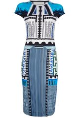 Mary Katrantzou Bloomberg Dress - Lyst