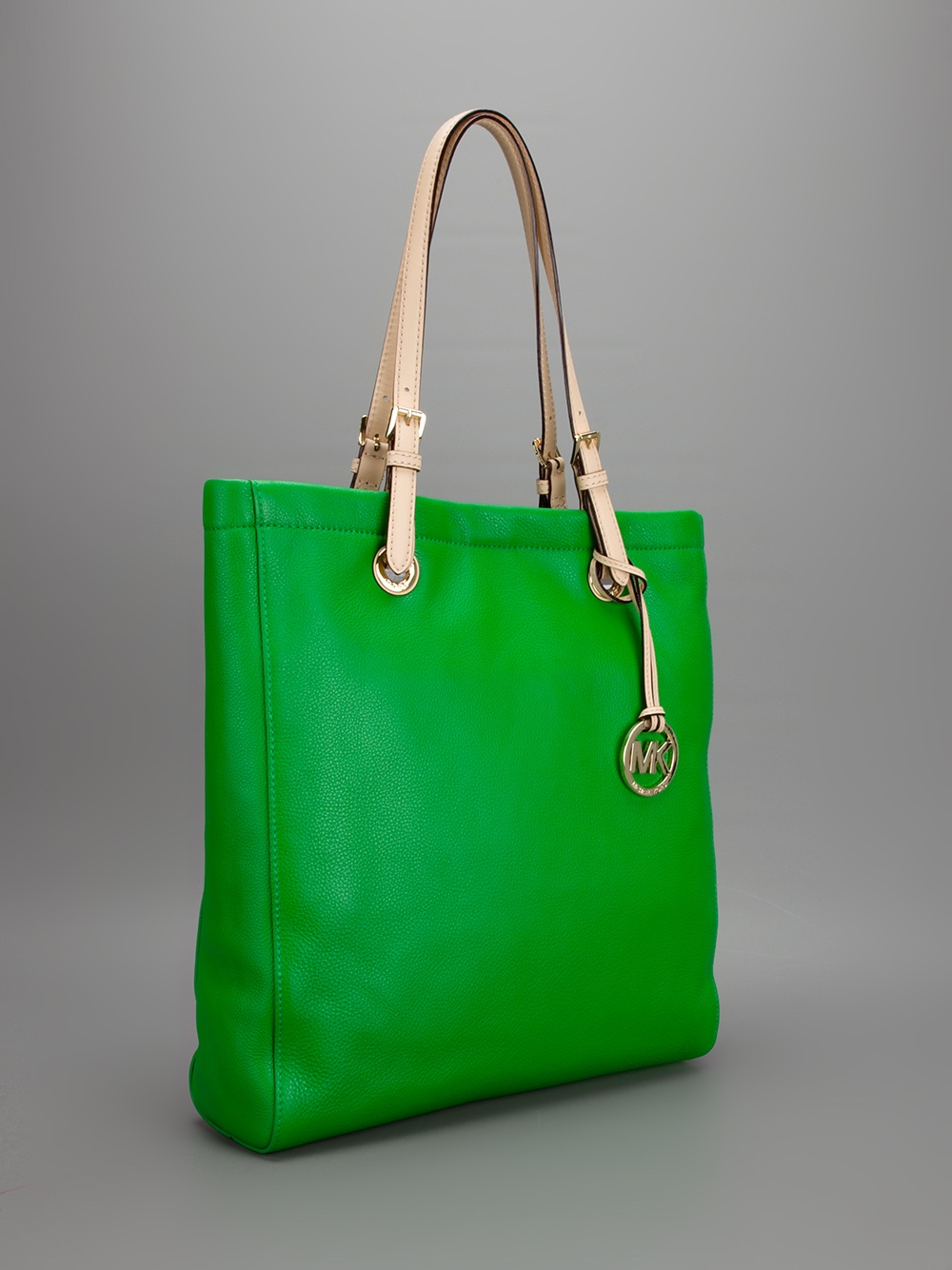 lyst michael kors shoulder bag in green