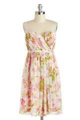ModCloth Floral Fair Dress - Lyst