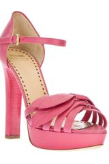 Moschino Cheap & Chic Platform Sandals - Lyst
