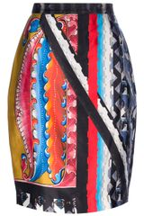 Peter Pilotto Ava Printed Skirt - Lyst