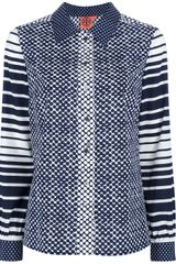 Tory Burch Printed Shirt - Lyst