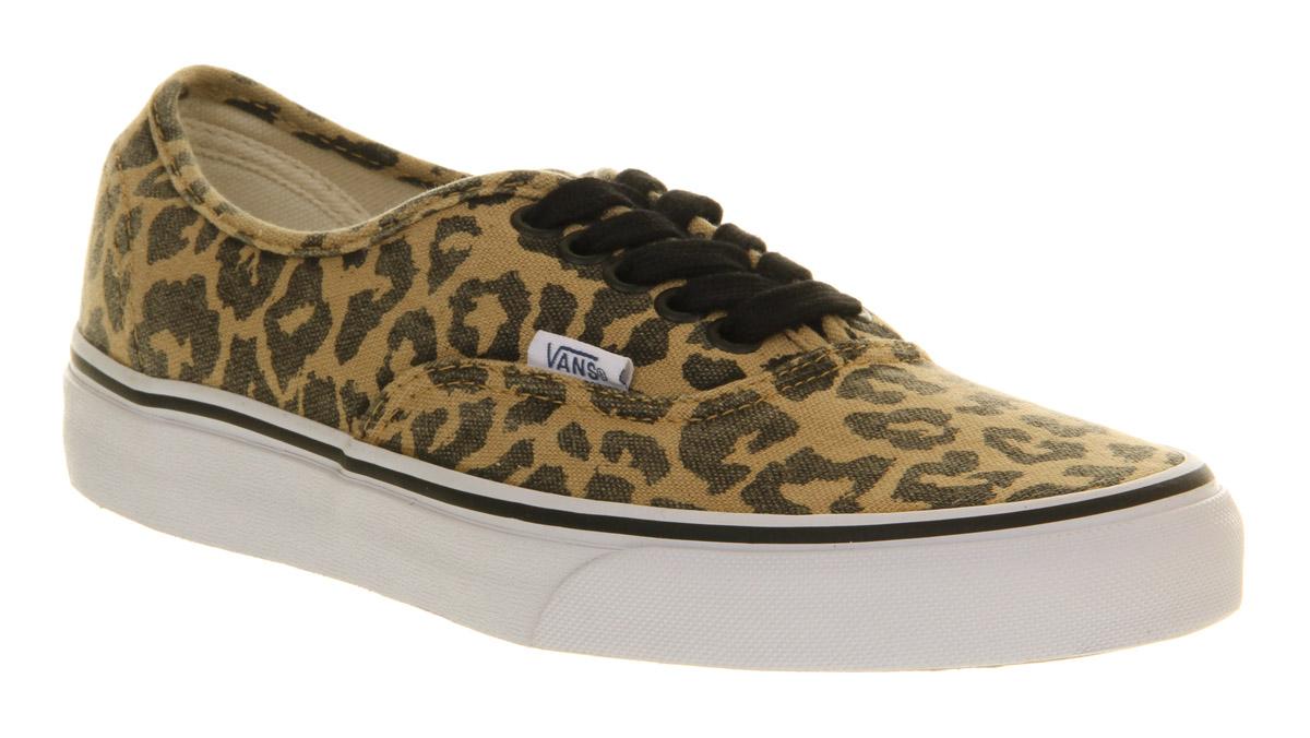 66ff1da4b30d2f Lyst - Vans Authentic Van Doren Leopard Exclusive for Men