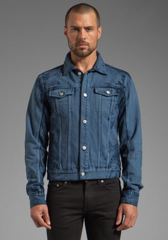 Blk Dnm Jean Jacket 5 in Forsyth Blue - Lyst