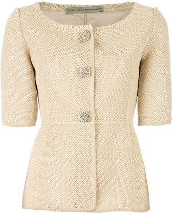 Ermanno Scervino Tailored Cardigan - Lyst