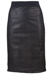 Mason by Michelle Mason Contrast Panel Skirt - Lyst