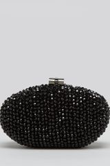 Sondra Roberts Clutch Oval Bead Box - Lyst