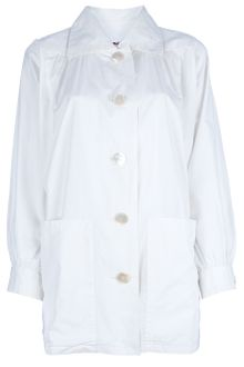 Yves Saint Laurent Vintage Structured Shirt - Lyst