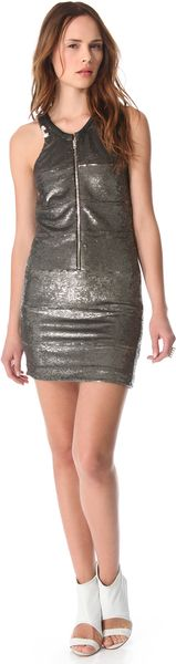 Iro Harry Sequin Dress - Lyst