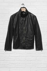 John Varvatos Double Zip Jacket - Lyst