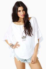Nasty Gal Mika Cutout Top - Lyst