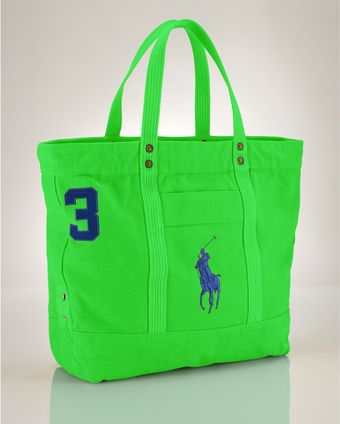 Ralph Lauren Polo Big Pony Tote - Lyst
