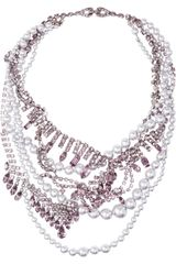 Tom Binns Regal Rocker Swarovski Crystal Necklace - Lyst