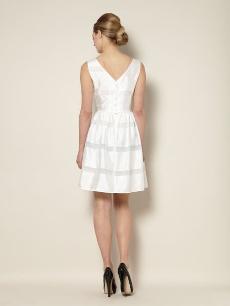 Untold Dress Fit Flare In White Lyst