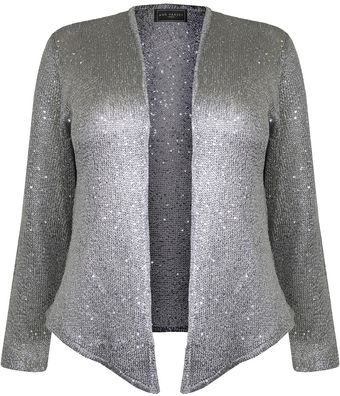 Ann Harvey Jessica Sequin Cardigan - Lyst