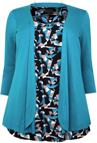 Ann Harvey Moss Crepe Blouse - Lyst