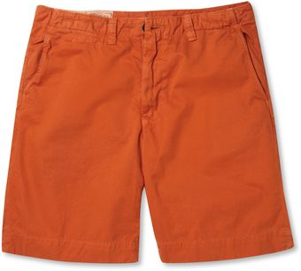 Billy Reid Boman Cotton Shorts - Lyst