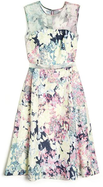 Erdem Nicola Sleeveless Dress - Lyst